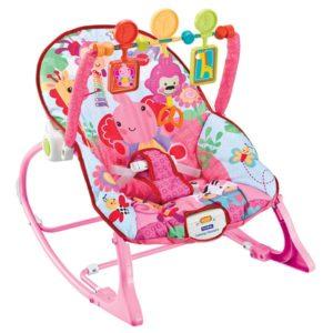 Кресло-качалка «Розовый слоник» FitchBaby