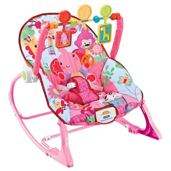 Кресло-качалка «Розовый слоник»