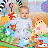 Развивающий коврик Жирафик и друзья Fitch Baby