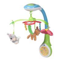 Игрушка-проектор (мобиль) для детской кроватки Chicco «Бэмби»