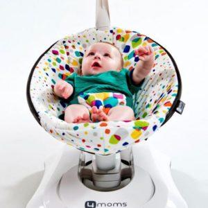 Электронное Кресло-качалка 4moms MamaRoo 3.0 (дизайн плюш)