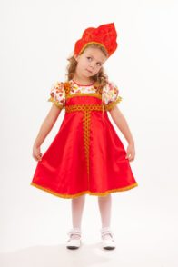 Карнавальный костюм «Красна — девица»